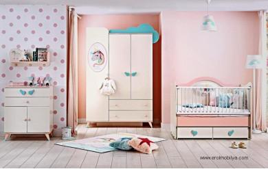 Unicorn Bebek Odası Takımı