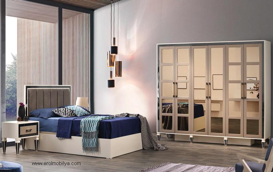Beykoz Antrasit Yatak Odası