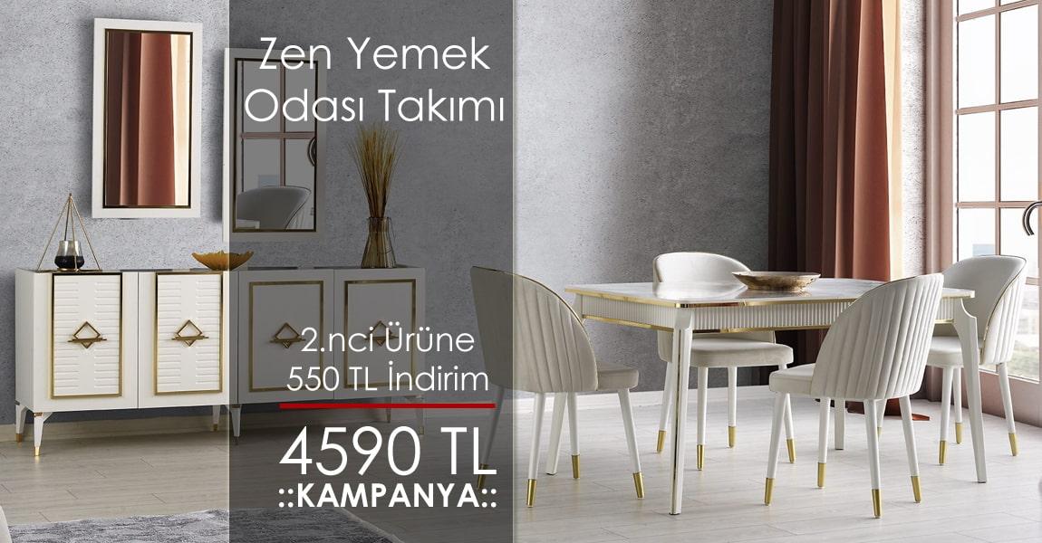 Zen Yemek Odası Takımı