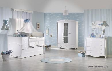 Stella Erkek Bebek Odası Takımı