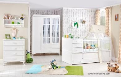 Simple Bebek Odası Takımı