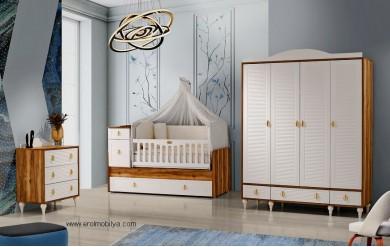 Pelit 4 Kapılı Bebek Odası Takımı