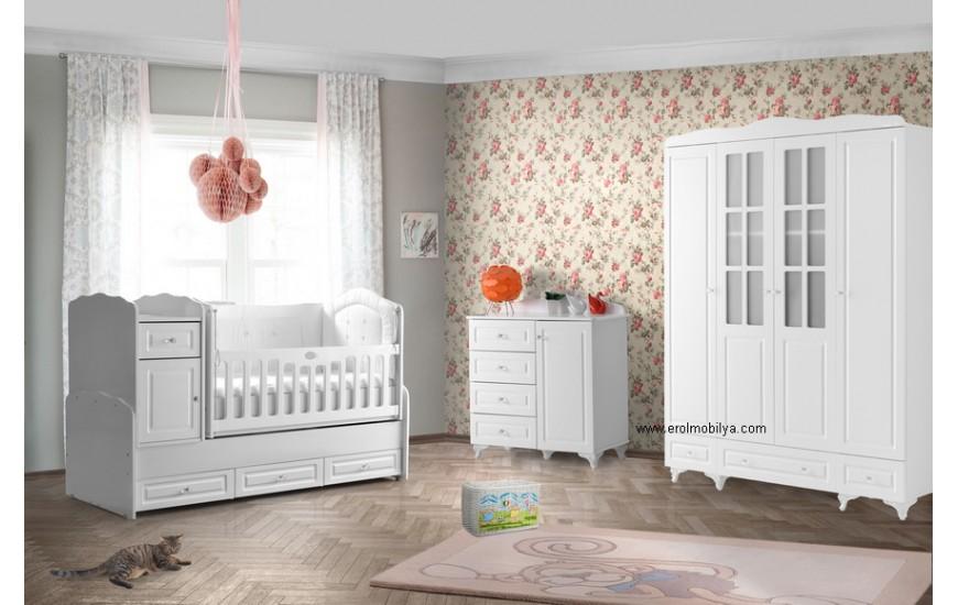 Stil 4 Kapılı Bebek Odası Takımı