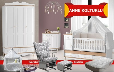 Carla Anne Koltuklu Bebek Odası