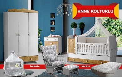 Efsane Anne Koltuklu Bebek Odası