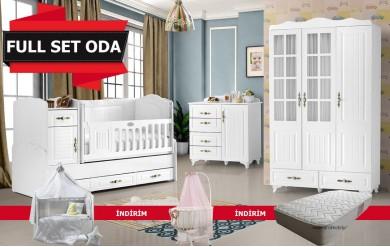 Osmanlı Bebek Odası Full Set