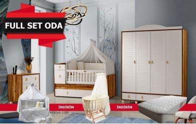 Pelit 4 Kapılı Bebek Odası Full Set