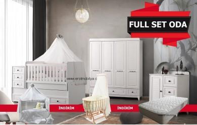 Polo 4 Kapılı Bebek Odası Full Set