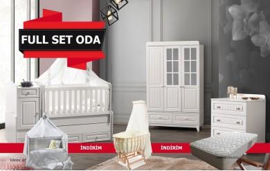 Riva Bebek Odası Full Set