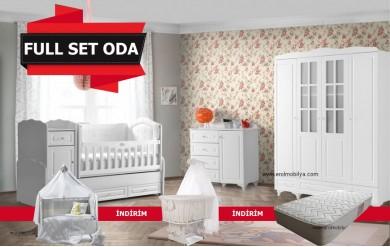 Stil 4 Kapılı Bebek Odası Full Set
