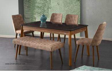 Lotus Masa Sandalye Takımı