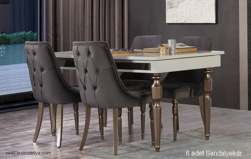 Menekşe Masa Sandalye Takımı