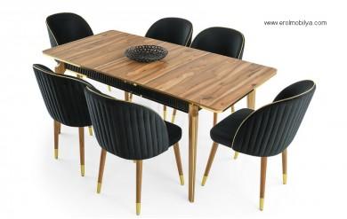 Papatya Masa Sandalye Takımı
