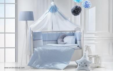 Carussel Mavi Uyku Seti Takımı