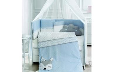 Fox Mavi Uyku Seti Takımı