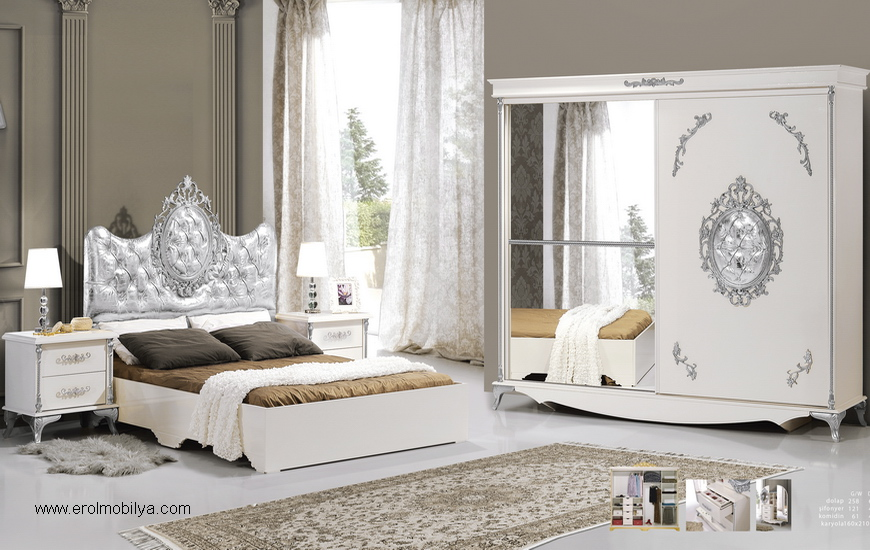 Sıla Gümüş Mdf Yatak Odası