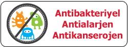 Anti Bakteriyal Materyal Kullanılmıştır